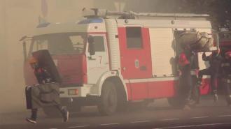 На проспекте Юрия Гагарина ликвидировали пожар в двухкомнатной квартире