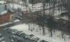 ВВыборгском районе петербуржцы тушили загоревшийся трамвай снежками