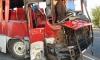 В Ленобласти под Тосно иномарка врезалась в автобус: трое погибли, двое в больнице