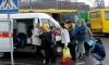 На набережной реки Волковки грузовой микроавтобус протаранил  припаркованную маршрутку