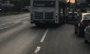 На Латышских Стрелков легковушка врезалась в автобус