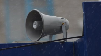 Звуковая реклама на улице