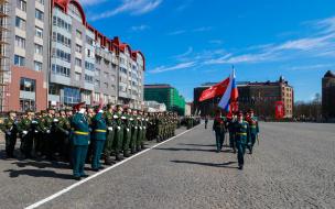 В Выборге прошла репетиция Дня Победы