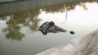 ДТП с купанием в Обводном канале