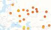 Индекс самоизоляции в Петербурге составляет чуть больше двух баллов