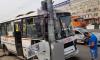 В Красноярске маршрутный ПАЗ протаранил столб, 6 пассажиров в больнице