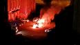 Ночью пожарные потушили Mercedes на Прибрежной улице