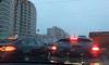 В Купчине из-за сломанного светофора образовалась пробка
