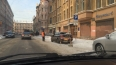 На Некрасова коммунальщики пробили крышу припаркованного ...
