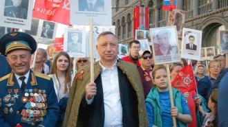 Беглов поблагодарил ветеранов на выступлении в Ледовом дворце