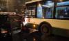 Авария с автобусом парализовала проспект Ветеранов