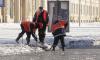 Коммунальщики собрали за сутки рекордное количество снега в Петербурге