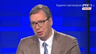 Вучич назвал незаконное прослушивание его разговоров попыткой госпереворота
