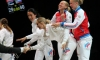 Российская женская сборная завоевала золото в командном турнире на ЧМ по фехтованию