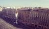 Известный руфер пересек Невский проспект по проводам