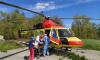 Врачи санитарной авиации помогли жителю Ленобласти со сломанным позвоночником