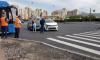 Две Kia Rio перекрыли перекресток Комендантского проспекта и улицы Шаврова