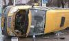 Пять пассажиров маршрутки госпитализированы после ДТП на Просвещения