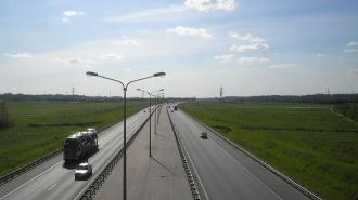 На развязке КАД с проспектом Энгельса временно перекроют два съезда