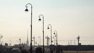 В Петербурге завершился первый этап обновления уличного освещения