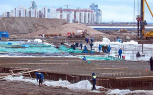 """На стройке стадиона """"Зенит"""" обнаружено тело украинца"""