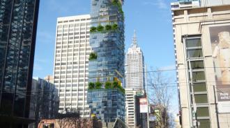 """В Австралии построили """"вертикальную улицу"""", уходящую в небо"""