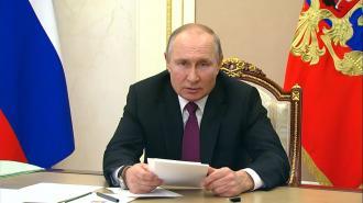 Владимир Путин заработал почти 10 млн рублей за 2020 год