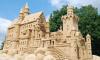 Из-за ливней пострадали песчаные скульптуры в Петропавловской крепости