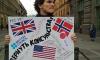 Петербуржцы против: на Невском проспекте прошли пикеты против закрытия генконсульства США