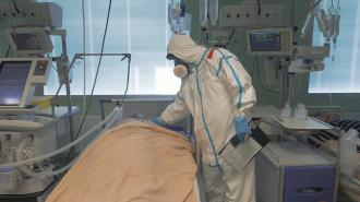 Доля тяжелых больных в коронавирусных палатах составила 28%