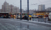На Пионерской из-за ДТП с маршруткой остановились троллейбусы