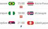 Сегодня в России состоится три матча ЧМ-2018