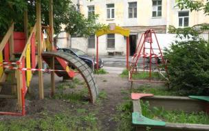 Детскую площадку в МО Невская застава демонтируют