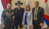 Михаил Боярский и Лариса Луппиан получили памятные знаки от ЗВО