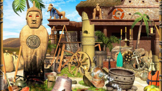 «Путешествие на остров тайн» в Доме детского творчества