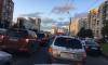 Нерабочий светофор в Красногвардейском районе стал причиной огромной пробки