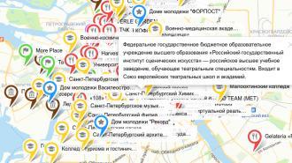 Студенты Петербурга составили интерактивную карту интересных мест