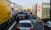 В Петербурге жесткие пробки: затор на юго-западе достиг 10 км