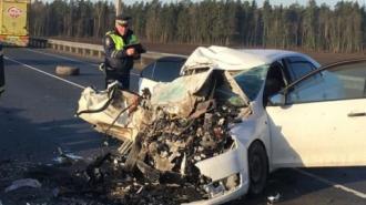 """На трассе """"Псков"""" произошло серьезное ДТП"""