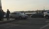 Странное ДТП на Дворцовой набережной: молодой водитель сбил пешеходов на тротуаре