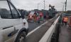На Ладожском мосту завершились все аварийные работы