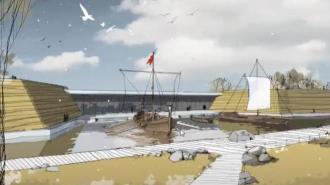 Региональный музей истории представит концепцию выставочного пространства на Охтинском мысе