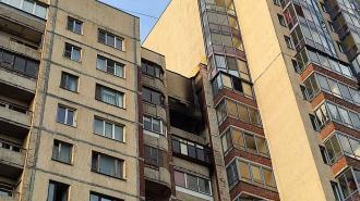 На улице Латышских Стрелков произошёл пожар в трёхкомнатной квартире