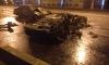 В Москве подросток угнал Ferrari и сжег ее, протаранив две машины на Крымском мосту