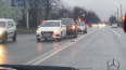 Lexus врезался в Hyundai на проспекте Народного Ополчени...