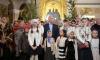 Владимир Путин встретил Рождество в Спасо-Преображенском соборе в Петербурге