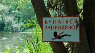 Роспотребнадзор: купаться в Озерках запрещено