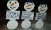 В Новом Девяткино появились митингующие снеговики