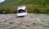 ЧП в Дагестане: микроавтобус рухнул с обрыва в реку, трое погибли