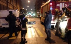 Пострадавшая петербурженка рассказала, как на нее свалился горящий мужчина